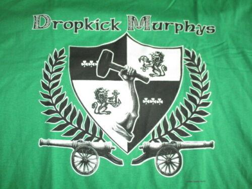 2000 DROPKICK MURPHYS Concert Tour (XL) T-Shirt GREEN Ken Casey NEW