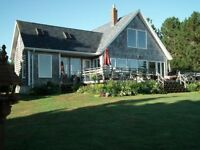 Prince Edward Island Fabulous Waterfront Home and Acreage