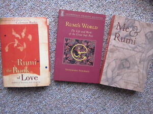 Rumi the Mystical Poet  2 books. Can buy one for $18.
