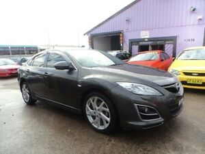 2010 Mazda 6 GH1052 MY10 Luxury Sports Grey 6 Speed Manual Hatchback North St Marys Penrith Area Preview