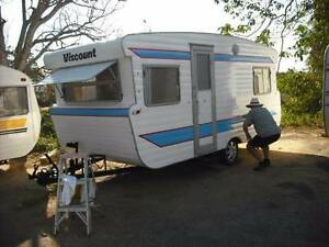 1979 viscount Royal 15' vintage CARAVAN FOR SALE SUNSHINE COAST Woombye Maroochydore Area Preview