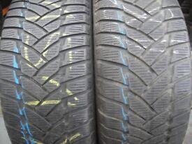 225 45 17 Continental,Conti Winter 850,91H,x2 A Pair, 6.0mm(168 High Road, RM6 6LU)