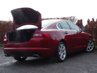 JAGUAR XF 3.0 V6 LUXURY 4d AUTO (red) 2011