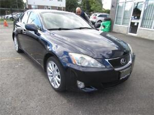 2007 Lexus IS 250 accident free/AWD/heat&cool seats/leather
