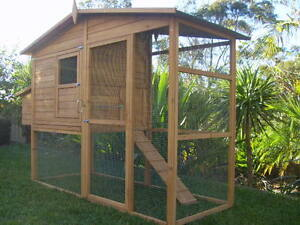 Chicken Coop Rabbit Cat Enclosure Hutch Cage LARGE SOMERZBY MANOR Somersby Gosford Area Preview
