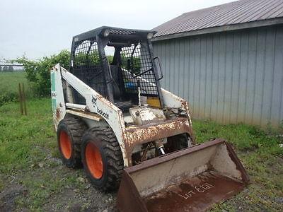 Bobcat 641-642 & 643 Skid Steer Workshop Manual