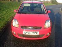 Ford Fiesta 1.4TDCi 2008 25MY Zetec Climate MOT 30/3/18 £30 Road Lic 89900 Mls
