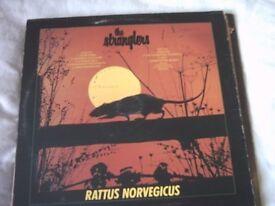 Vinyl LP The Stranglers - Rattus Norvegicus UA UAG 30045 1977 Stereo