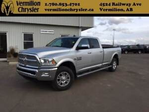 2018 Ram 3500 Laramie, Crew, 8' Long Box, SRW
