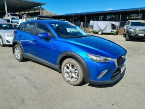 2017 Mazda CX-3 DK2W7A Maxx SKYACTIV-Drive Blue 6 Speed Sports Automatic Wagon Bungalow Cairns City Preview