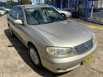 2004 Nissan Pulsar N16 ST-L Gold 5 Speed Manual Sedan Chester Hill Bankstown Area Preview