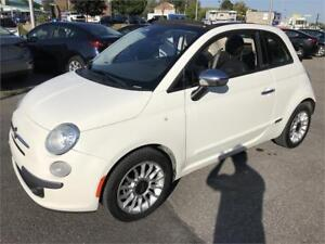 2012 Fiat 500 *CONVERTIBLE* CUIR AUTOMATIQUE MAGS BOSE AUDIO