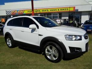 2012 Holden Captiva CG Series II 7 AWD CX White 6 Speed Sports Automatic Wagon Kippa-ring Redcliffe Area Preview