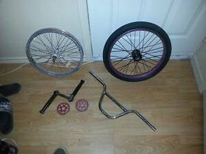 bmx parts trade for mountain bike parts
