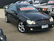 2003 Mercedes-Benz CLK320 C209 Avantgarde Black 5 Speed Auto Touchshift Coupe Werribee Wyndham Area Preview