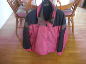 Columbia ski jacket with zip in liner