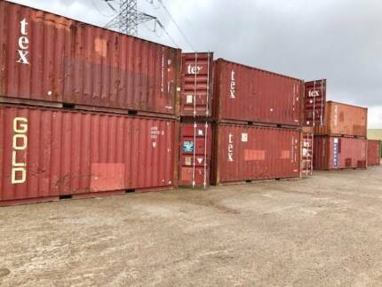 BEST VALUE! USED SHIPPING (SEA) CONTAINER ECONOMY 20FT