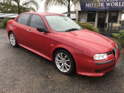 1999 Alfa Romeo 156 Twin Spark Red 5 Speed Manual Sedan