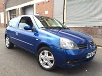 Renault Clio 2007 1.2 Campus Sport I-Music 3 door FULL SERVICE HISTORY, 1 OWNER, BARGAIN