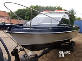 due to illness  scorpion 21ft fast fisher for sale