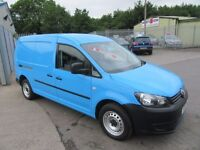 VW Caddy C20 TDI 1d 101 BHP full main dealer service history, (blue) 2011