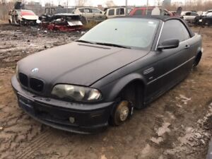 2001 BMW 325 Ci Convertible just in for parts at Pic N Save!