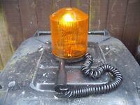 Bosch rotating orange beacon.