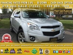 2011 Chevrolet Equinox 2LT AWD - Power Liftgate - Leather - Sunr
