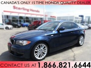 2011 BMW 1 Series 128i 2-DOOR COUPE   LEATHER   NO ACCIDENTS