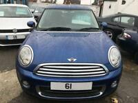 2011 Mini Hatchback 1.6 One 3dr 3 door Hatchback
