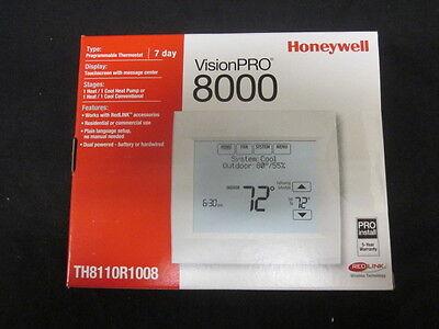 Honeywell Visionpro 8000 Wredlink 7day Progr. 1h1c Thermostat - Th8110r1008