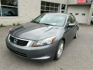 2010 Honda Berline Accord LX (GARANTIE 1 ANS INCLUS)