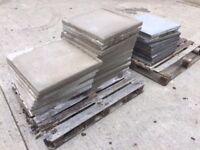 Textured paving slabs