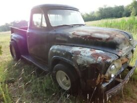 1954 Ford F100 American Truck Project + spare v8 engine + spare gearbox