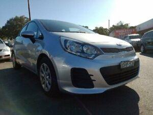 2016 Kia Rio UB MY16 SI Silver 6 Speed Automatic Hatchback Edgeworth Lake Macquarie Area Preview
