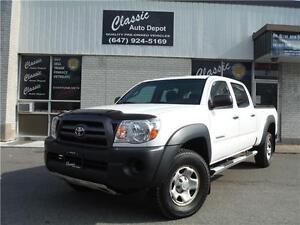 2009 TOYOTA TACOMA DOUBLE CAB LONG BED 4X4**CERTIFIED**