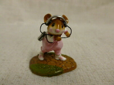 Wee Forest Folk Walkmouse Girl Special Edition MS-25 Mouse Retired