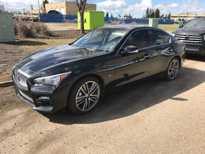 2014 Infiniti Q50s LOW KM sport premium w/ touring & technology