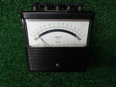 Weston Model 904 Amperes A.c. Meter 904 No. 17952 Vintage A-22