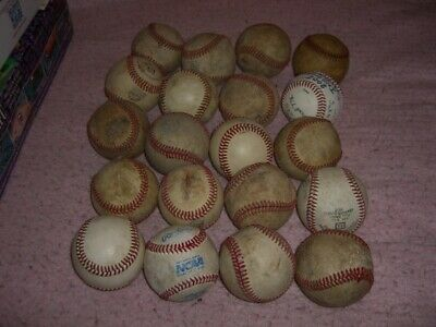 Baseball Ball Lot 20 Practice Balls  O15