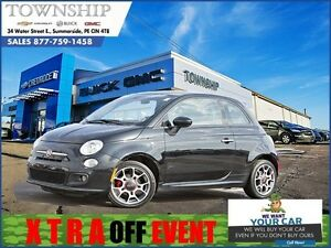 2015 FIAT 500 Sport - $6 Day! - Automatic - Great on Gas!