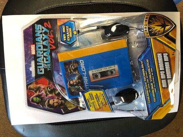 Guardians of the Galaxy Vol. 2 Mini MP3 Boombox Headphones R