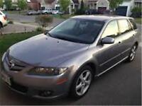 2006 MAZDA 6, Station Wagon, MNL, Rear Spoiler, Sunroof, LOW KMS