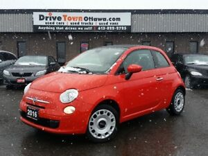 2016 Fiat 500 Pop Convertible **$39.00 Weekly**