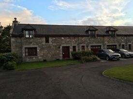 4 bedroom furnished converted steading by Howgate