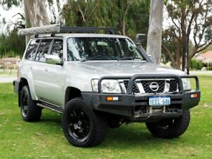 2006 Nissan Patrol GU IV MY06 ST-S Silver 5 Speed Sports Automatic Wagon Myaree Melville Area Preview