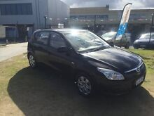 2008 Hyundai i30 AUTOMATIC Turbo Diesel Black Automatic Hatchback Wangara Wanneroo Area Preview