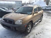 2001 Hyundai Santa Fe GLS 2.7L V6 4WD 1100$ 514-692-0093