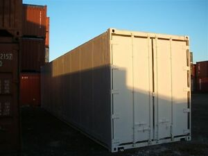 Container Insulated Stainless Steel Interior | 40ft Storage |