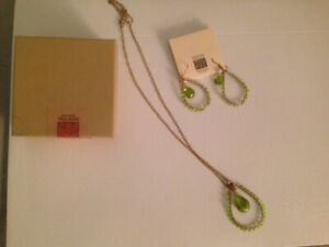 Brand New Boxed Necklace and Earrings Set-Ten Thousand Villages